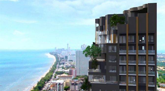 眺望最高!パタヤ・ジョムティエンビーチ沿いの高級タワーコンドミニアム!