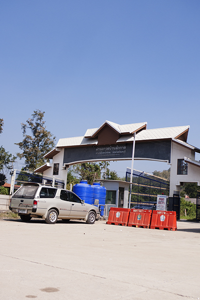 カンボジア国境?